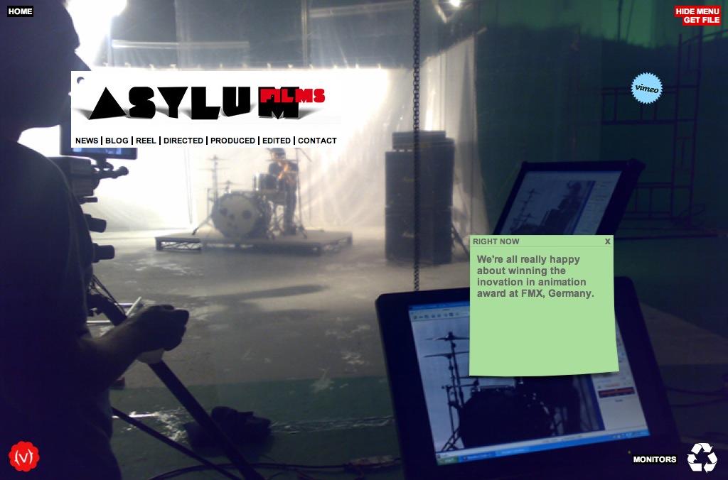 asylum films website