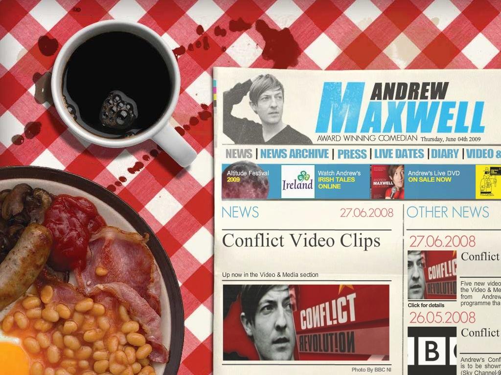andrew maxwell website