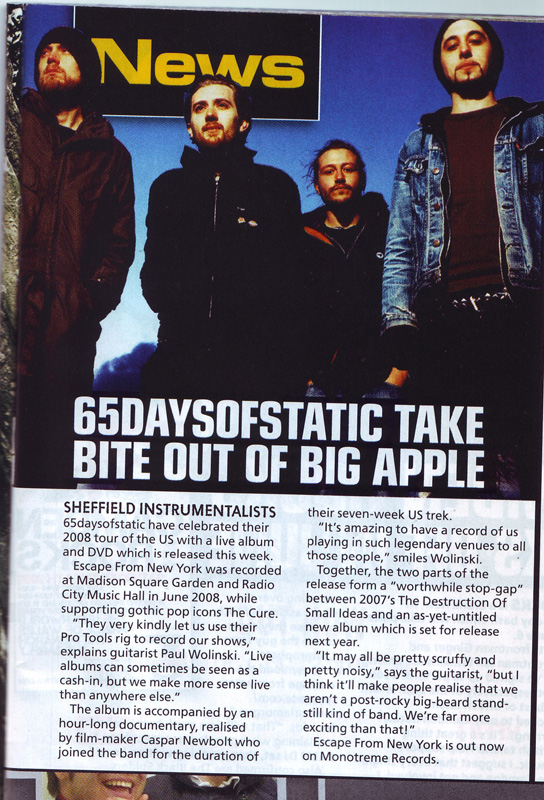 65 kerrang news article