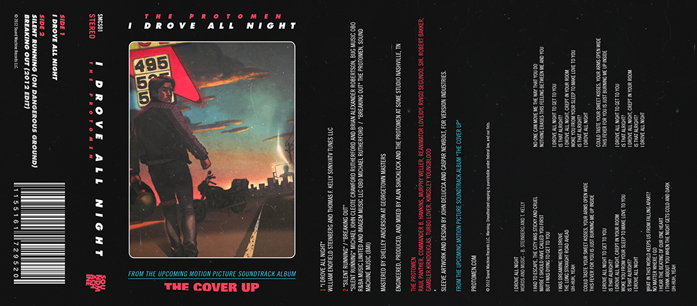 i drove all night outside cover