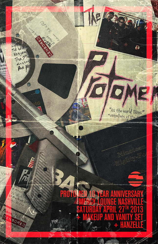 protomen 10 year poster