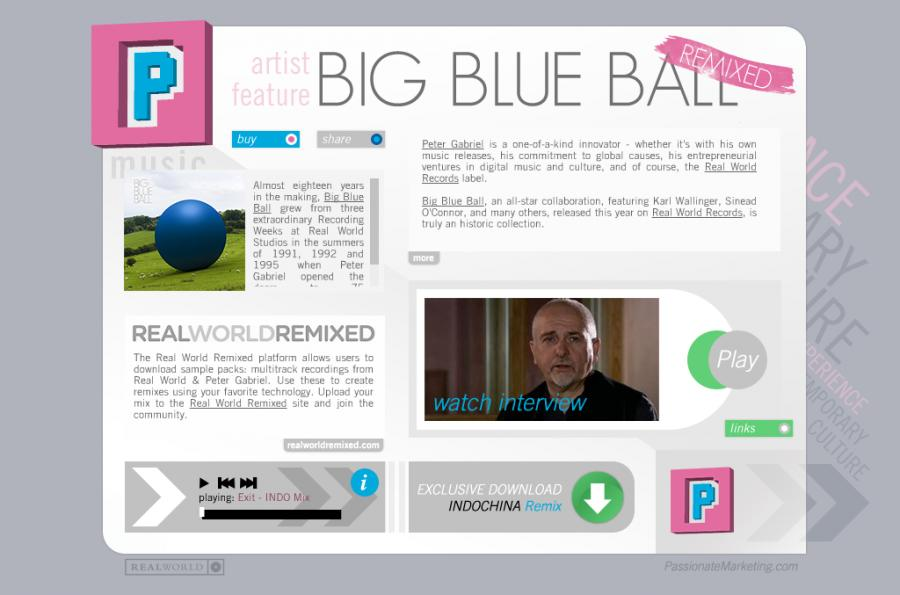 big blue ball ecard