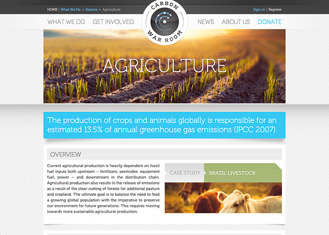 agriculture page