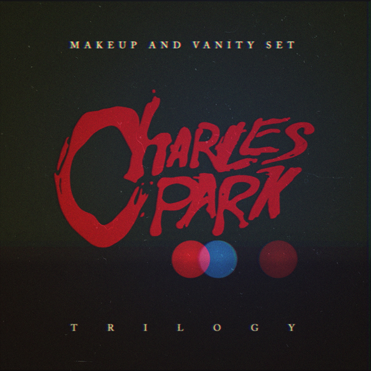 V Record Sleeve Makeup And Vanity Set