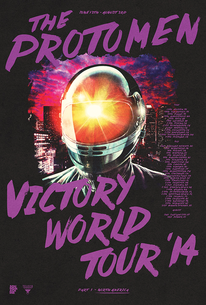 victory world tour poster