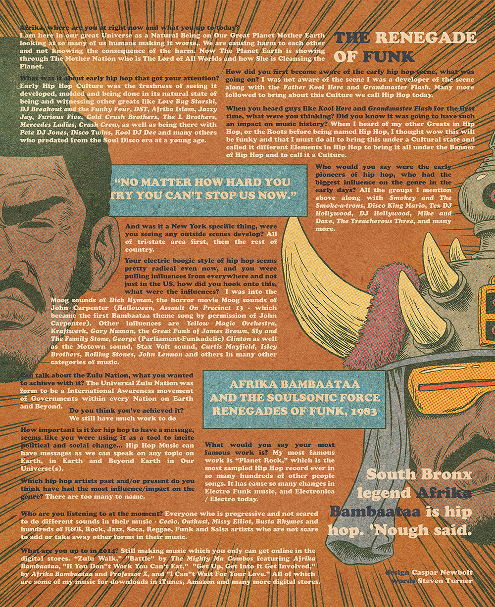 afrika bambaataa interview
